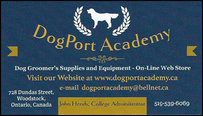 DogPort Academy, Dog Grooming Supplies and Equipment